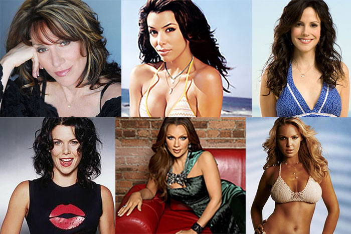 6 Hottest Cougars On TV